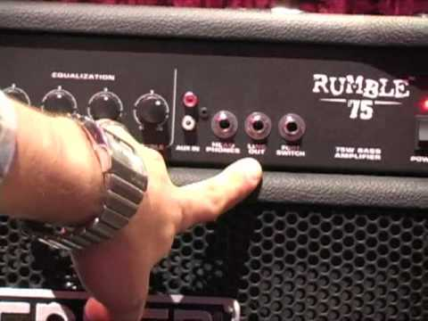 Fender Rumble Series Winter NAMM 2010 Demo