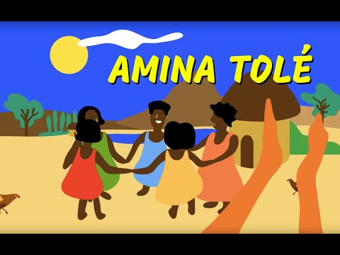 Amina - comptine  africaine - enfant - maternelle