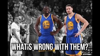 What's going on with Klay Thompson and Draymond Green? The Warriors 3-peat may be in danger!