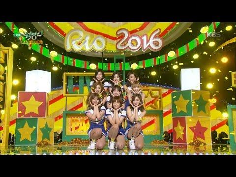 뮤직뱅크 - [2016 리우 올림픽 특집] 트와이스 - OOH-AHH하게 + Touchdown + Cheer Up.20160805