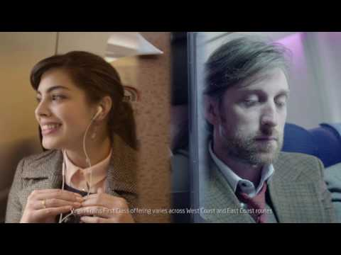Train vs Plane - kick back for the onboard Virgin Trains experience