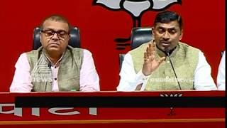 BJP leader Ram Madhav's PRESS MEET 20 MAR 2019