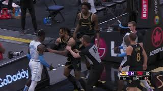 OG Anunoby And Montrezl Harrell Get Ejected During Lakers-Raptors Game
