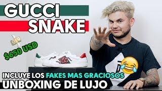 GUCCI SNAKE Unboxing de lujo | FAKES más graciosos | REVIEW EN ESPAÑOL