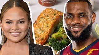 LeBron James Vs. Chrissy Teigen: Whose Salmon Is Better?