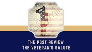 Post Review: Veteran's Salute - Craftymint - diamond painting