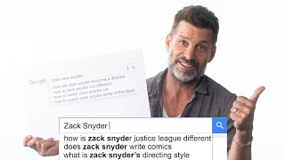 Zack Snyder Answers the Web's Most Searched Questions | WIRED