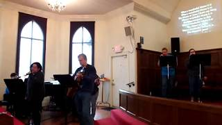 """KyleUMC Praise Band """"What A Beautiful Name"""" (Hillsong cover) 1/6/19"""
