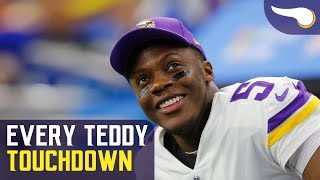 Every Teddy Bridgewater Touchdown with the Vikings