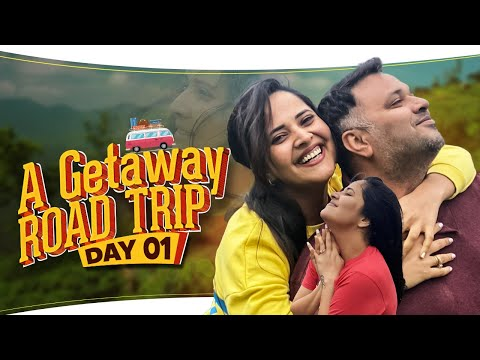 Anasuya Bharadwaj shares a Getaway road trip- Day 1 with hubby and brothers-in-laws
