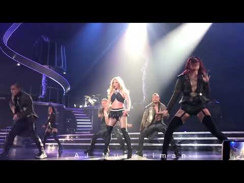 Britney Spears - Womanizer - Piece Of Me - 10/11/2017