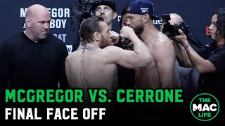 Conor McGregor vs. Donald Cerrone Final Face Off | UFC 246 Ceremonial Weigh-ins