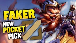 Faker's new pocket pick - Kled MID
