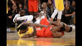 How the Lakers Defended James Harden