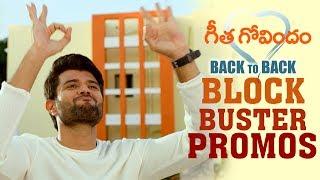 Geetha Govindam Back to Back Blockbuster Promos..