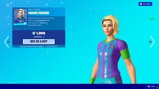 Fortnite Buying Soccer Skin And Electro Swing