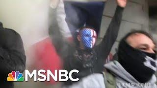 FBI Vetting Guard Troops; New Footage Goes Inside Capitol Siege | Morning Joe | MSNBC