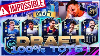 DRAFT 100% TOTS CHALLENGE !! IMPOSSIBLE ? #7 🤣