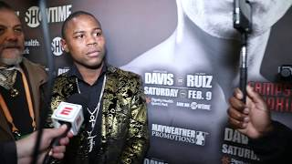 "JAVIER FORTUNA SLAMS GERVONTA DAVIS ""YOU FOUGHT A WEAK 122 LBS, FIGHT ME AT 130 or 135 LBS"""