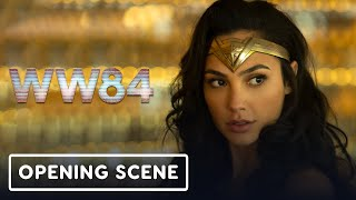 Wonder Woman 1984 - Opening Scene (2020) Gal Gadot, Chris Pine