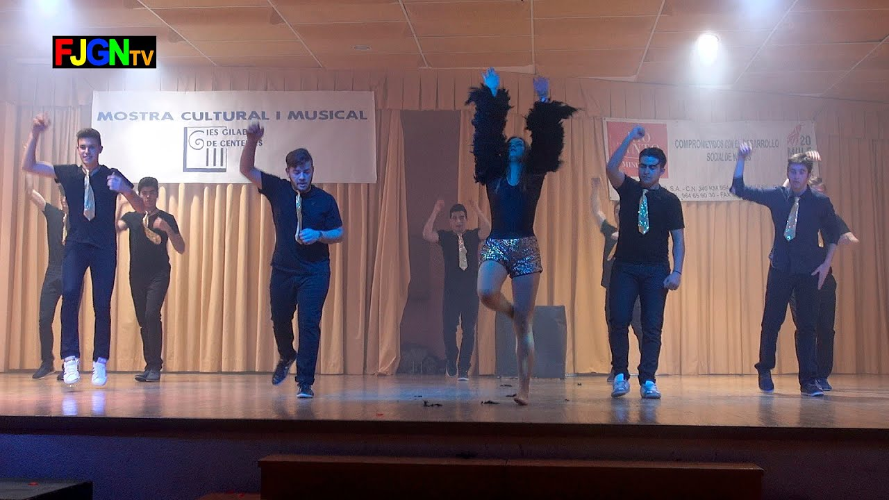 16. Live it up/Shot me down - Bailes Educacion Fisica 2016 IES Nules