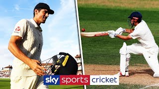 Alastair Cook reviews his FINAL Test match innings! - YouTube