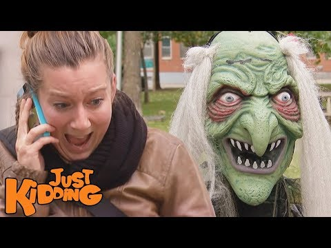 Scary Witch Monster Prank
