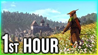 Kingdom Come: Deliverance – First Hour of GAMEPLAY! (Part 1 Walkthrough)