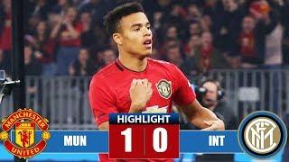 Маnсhеѕtеr Unіtеd vs Ιntеr Milаn 1-0 Highlights & All Goals (20/07/2019)