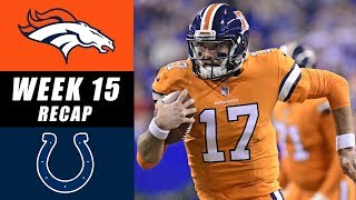 Broncos vs Colts Week 15 Recap
