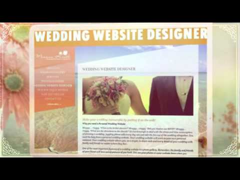 MARIYAZ-KREOLE A PERSONAL WEDDING PLANNER'S WEBSITE DESIGN L