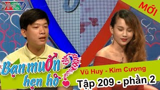 Bà mối kinh ngạc với cô gái xinh đẹp 6 năm yêu đơn phương   Vũ Huy - Kim Cương   BMHH 209 😲