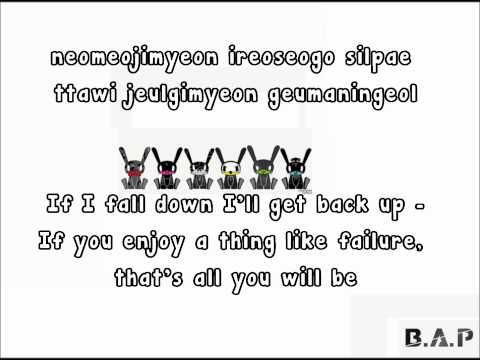 BAP - Goodbye lyrics [ Eng | Rom ]