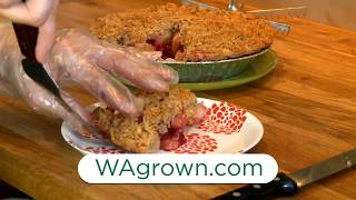 WaGrown Pies S1E7: Apple Cranberry Crumble at Shoofly Pies