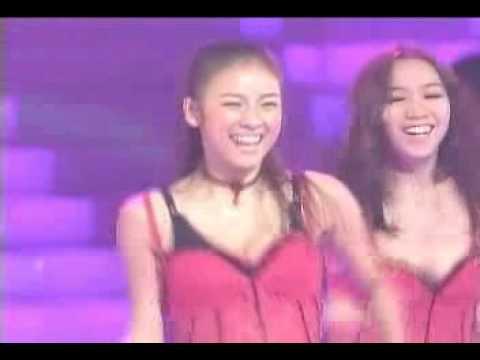 amazing Hyori dance with Rain at 2003 KBS Music Awards