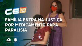 Família entra na justiça por medicamento para paralisia