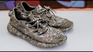 Cleaning The Dirtiest $1300 Yeezy Turtle Doves Back To New!