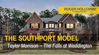 SOUTHPORT Model Home Tour The Falls at Weddington NC