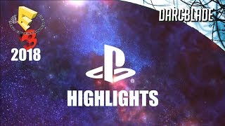 SONY Highlights : E3 2018