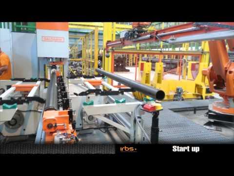 IRBS - Celda robotizada de empaque de tubos / Robotic Tubes Packing Cell