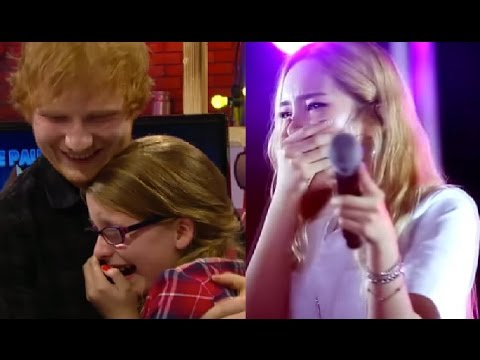 Top 10 Singers Surprised by Fans Singing Skills (ft. One Direction, Shawn Mendes, Adele, Ed Sheeran)