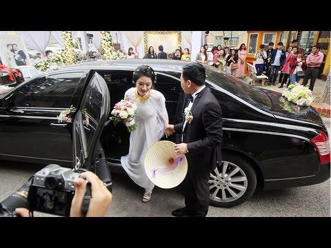 Toàn cảnh lễ rước dâu Hoa Hậu Thu Ngân và Đại Gia Doãn Văn Phương với dàn siêu xe - Tin Tức Sao Việt