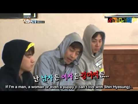 ShinBang (cut) - Can't live with Hyesungie