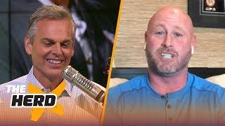 Trent Dilfer explains how Mack trade will impact Raiders, Carr's Week 1 struggles | NFL | THE HERD