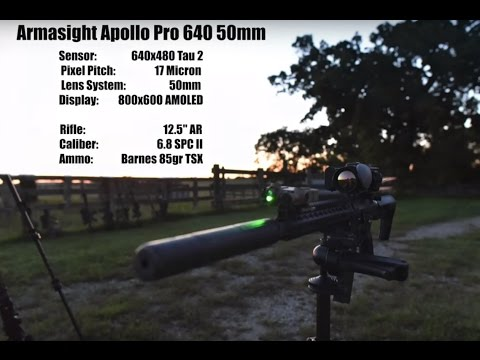 Thermal Hog Hunt with Lone Star Boars Armasight Apollo and REAP IR