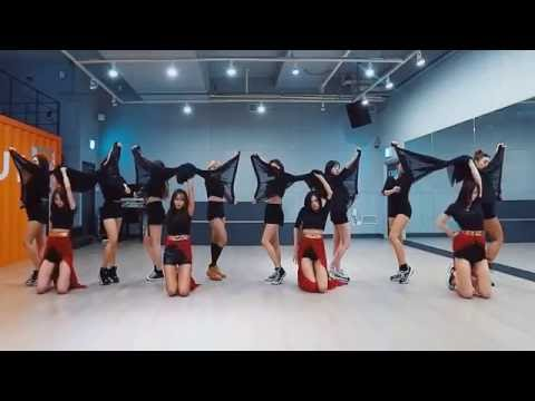 SISTAR 'I Like That' mirrored Dance Practice