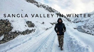 Ride to sangla valley - snowland of india