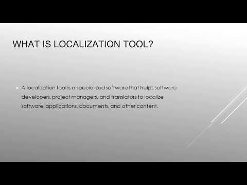 Guide of Localization Tool