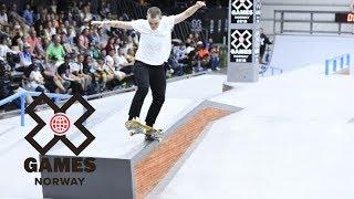 Lacey Baker wins Women's Skateboard Street silver | X Games Norway 2018