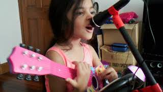 Simone Estelle Rocking Out To Kids Bop!